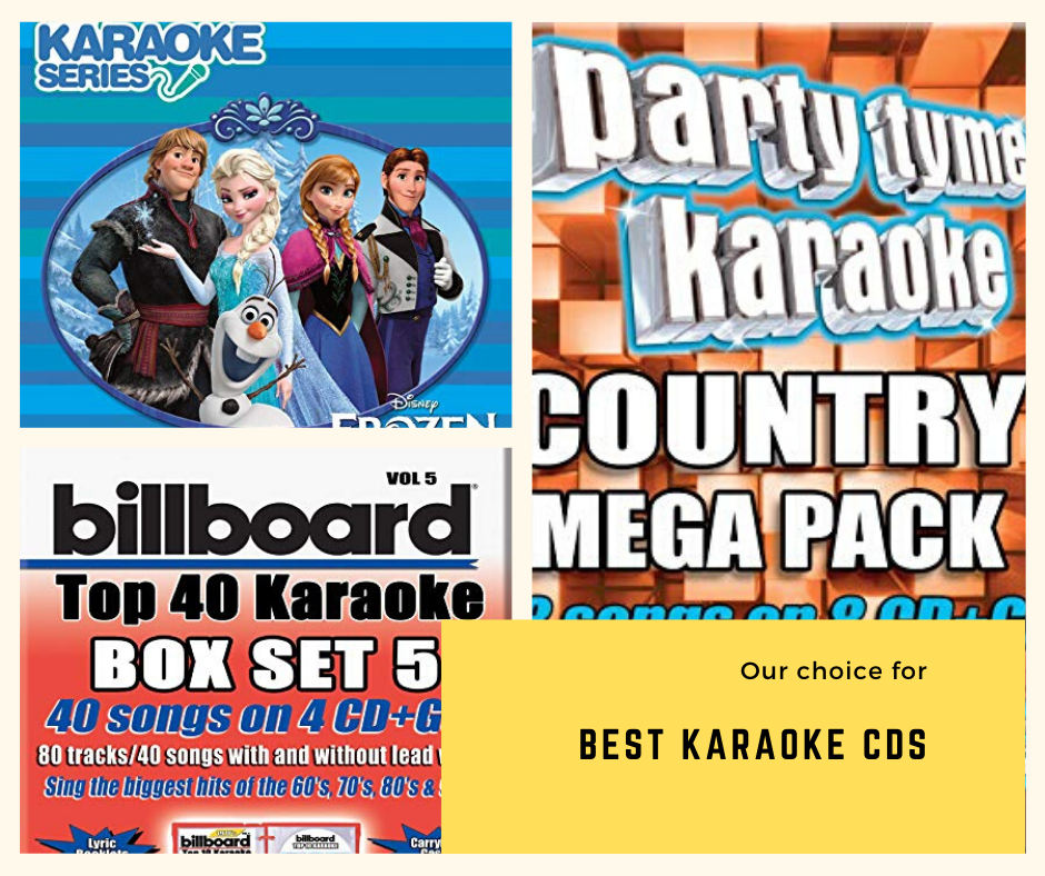 Top 8 Best Karaoke CDs Just For You – 2021 Reviews